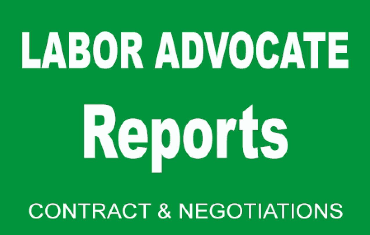 Labor Advocate Report