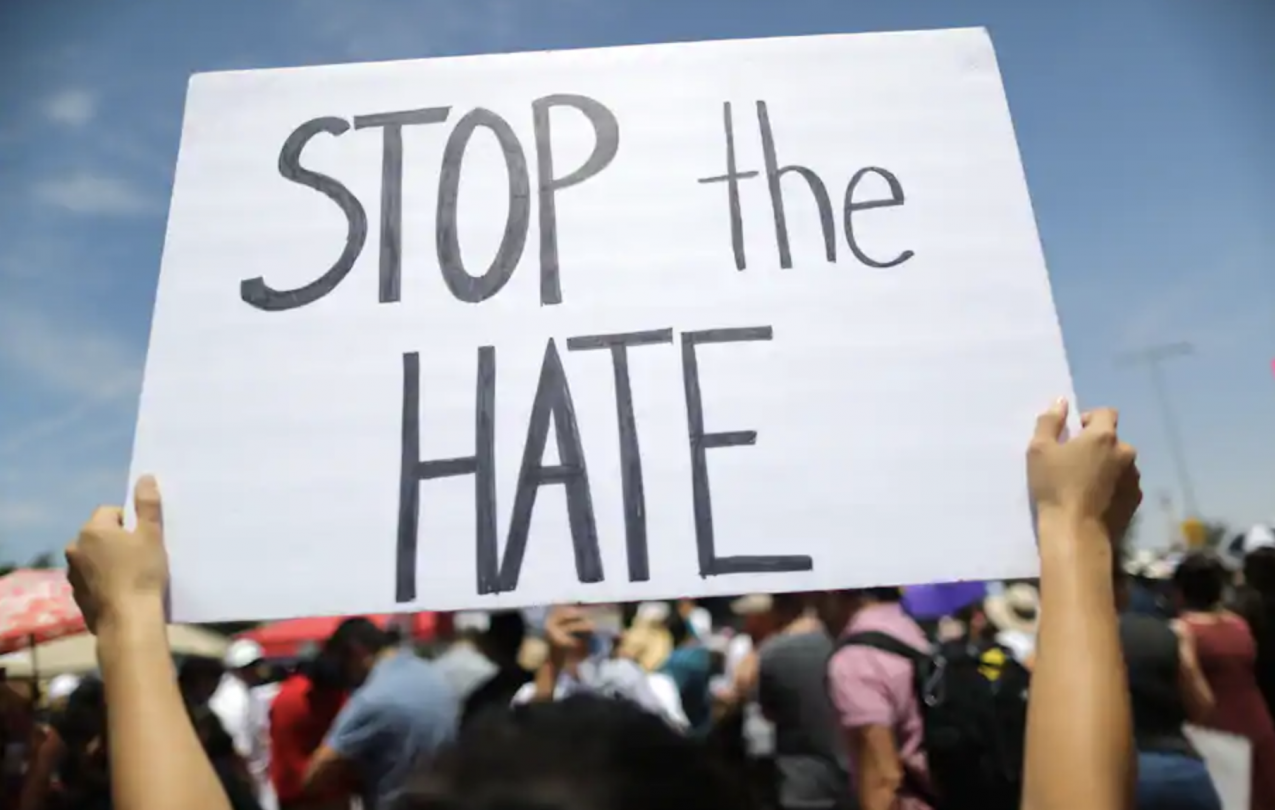 graphic:stop the hate